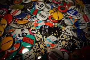 badge & mini zine set