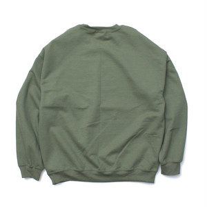 LINE PT CREWNECK SWEAT #OLIVE