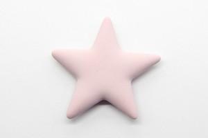 ハンドメイドキットAromajewel アロマジュエル|ピンク星のマグネットブローチ
