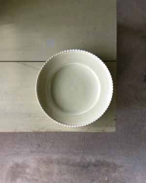魚谷あきこ 皿[薄緑]