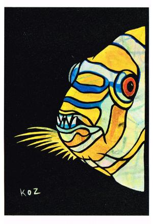 2011年「シチセンボウの牙」絵はがき
