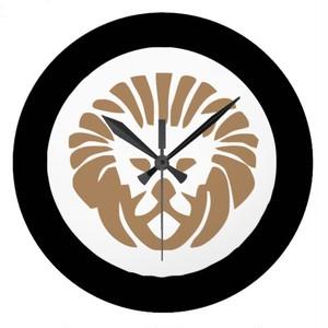 スタイリッシュライオンの壁時計(アメリカデザイン)