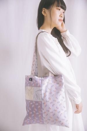 picnic tote bag (purple)