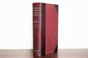 《革装》CHAMBERS'S CYCLOPEDIA OF ENGLISH LITERATURE /洋書ディスプレイ