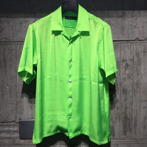 【roarguns】VINTAGE SATIN SHIRTS BASIC