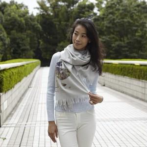 Virgin wool scarf HANA