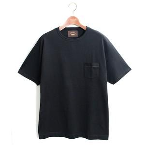 1 pocket Loose Tee -black <LSD-AI3T5>