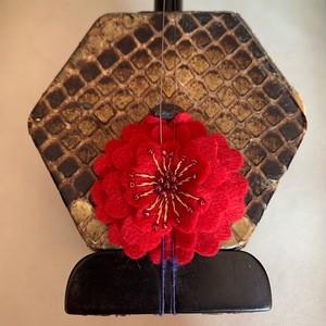 濃赤花のコントロールマスコット【LG002】