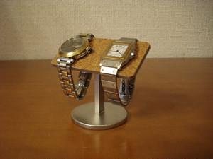 腕時計 飾る 2本掛けちょこっとバー腕時計スタンド N130113