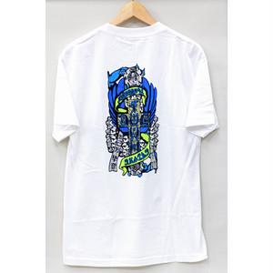 【ドッグタウン】ドレッセンフレークTシャツ ホワイト