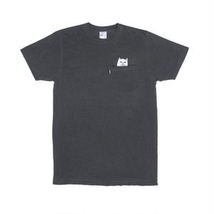 RIPNDIP - Lord Nermal Pocket Tee (Over Dyed Black)