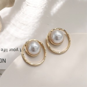 ♡pearl gold  pierce♡jml1949