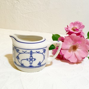 Antique Blue Fluted Style Design Milk Cup   [CCV-15]