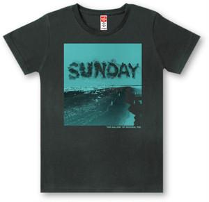 #445 Tシャツ SUNDAY/BLK