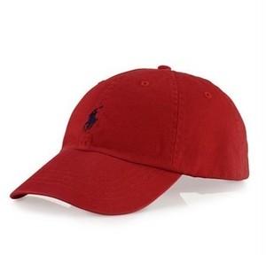 Polo Ralph Lauren Classic Chino Cap Red