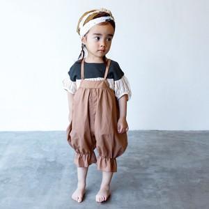folk made baby sallopette beige 100cm  F20SS-001※メール便可