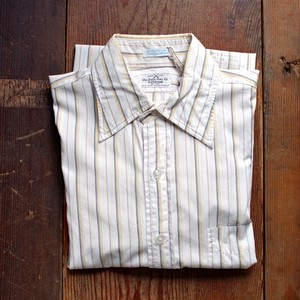 ~1970s Stripe Shirt / Vintage Dress Shirt / The Troy Shirt Makers Guild