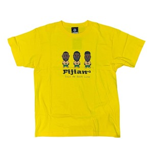 【YBC】TRIO DE BACK LINE T-Shirts Yellow
