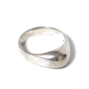 Vintage Sterling Silver Mexican Puffy Ring
