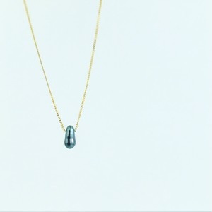 K18 Black KC Uno Necklace