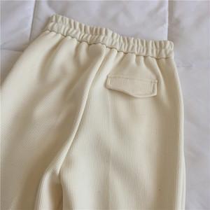〈カフェシリーズ〉春のウールストレートパンツ 【spring wool street pants】