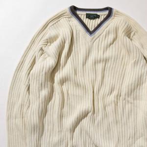 【XLサイズ】J.CREW ジェイクルー V-Neck Sweater セーター NAT ナチュラル XL 400604191202