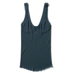 【FILL THE BILL】《WOMENS》MEUTHUSHI JACGUARD CAMISOLE - BLUE