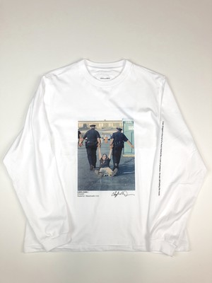 【JOHN MASON SMITH】LONG SLEEVE T-SHIRT DRUGGED