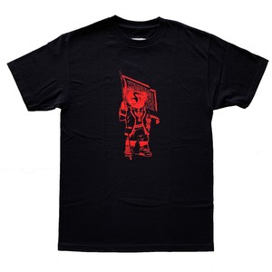 "KNOWLEDGE EDS ""BEAR"" Tee / Black"