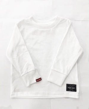 kids center japan box logo longT white
