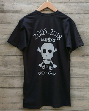 期間限定販売 ロックソ・ローノレT-shirts col.blk