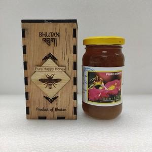 ブータン産はちみつ Pure Happy Honey ホワイトクローバー 275g 1瓶