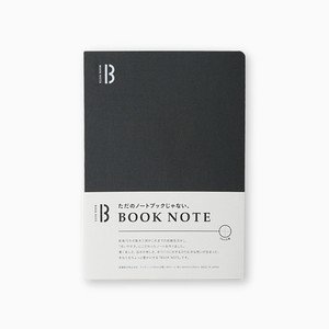 「BOOK NOTE」 /B6サイズ/ウォームブラック