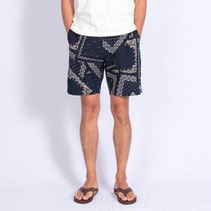 Short pants every day BANDANA Navy