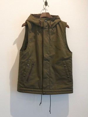 SULFIDE OX OUTER VEST(ARMY GREEN) / LOST CONTROL