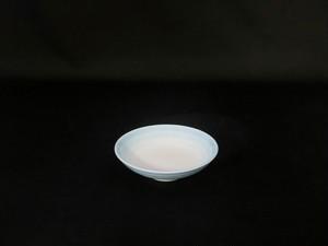 【井上康徳作】白磁青釉 皿(小)