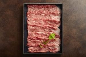 【和牛ロース】黒毛和牛すきやきセット(お肉約200g)特製割り下付き