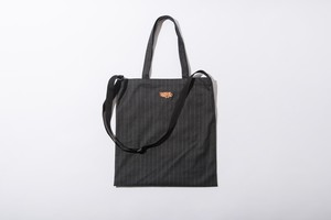 PIN STRIPE 2WAY WOOL BAG