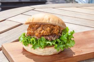 【ハンバーガー】キーマカレーバーガー《チーズ》セット