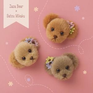 Zaza Bear × Satou Mikaku Collabo Item