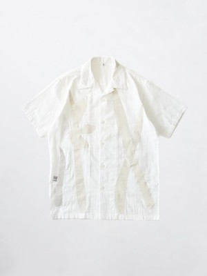 KHOKI DANCING SHIRT White 21SS-B-01
