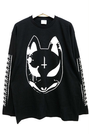 「狐繰/Ouija」 Long T-Shirt Black