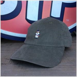 INFIELDER DESIGN(インフィールダーデザイン) BEAR CAP コーデュロイ 日本製 グレー