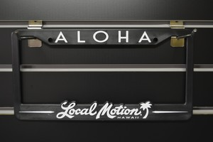 Local Motion Licence plate frames