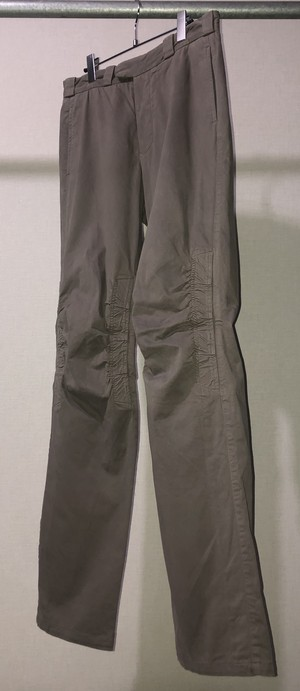 AW2002 STONE ISLAND GATHERED KNEE TROUSERS