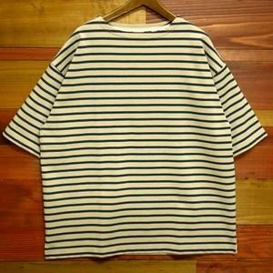 【2021年夏物新作商品】米綿ヘビー天竺BIGバスクシャツ(半袖Tシャツ)