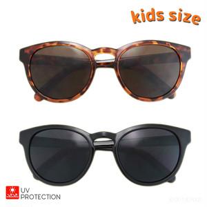 キッズ用UVサングラス ボストンサングラス 子ども 子供用 キッズ ジュニア 女の子 男の子 UV フリーサイズ