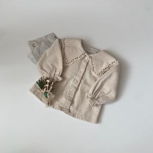 726. corduroy blouse