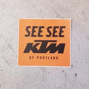 SEE SEEステッカー KTM