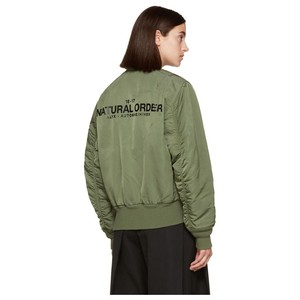 ALYX X ALPHA REVERSIBLE BOMBER JACKET